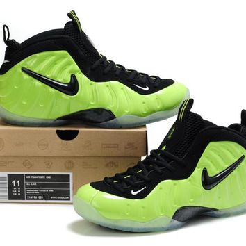 Nike Air Foamposite Pro Green/Black Sneaker Size US8-13