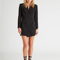 Isla Black Blazer Dress | Unique21
