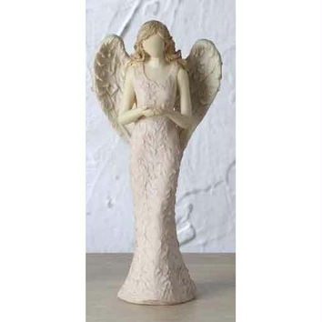 "4 Angel Figurines - 6.5 "" H X 3 "" W X 2.25 "" D"