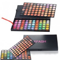 FASH Cosmetics© 180 Color Eyeshadow Palette - Warm and Vibrant Matte and Shimmer Shades