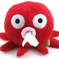 Home & Decor Home & Decor Cute Cartoon Octopus Tissue Paper Box Holder-red