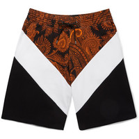 Givenchy - Panelled Cotton-Jersey Shorts | MR PORTER