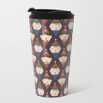 Day 25/25 Advent - a Christmas Carol Metal Travel Mug by lalainelim