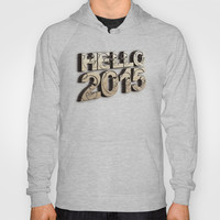 HELLO 2015 ! Hoody by Nirvana.K