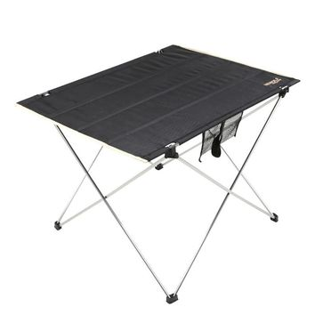 Outdoor Folding Table Tools Camping Aluminium Alloy Picnic Table Waterproof Ultra-light Durable Folding Table Desk For Camping