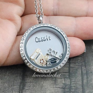 sterling kids gold or graduation personalized ctw large necklace white yellow diamond solid silver for collections the rose products