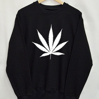 Weed Shirt Sweatshirt Clothing Sweater Top Tumblr Fashion Funny Text Slogan Dope Jumper tee