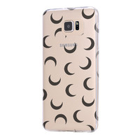 MOON Samsung Galaxy s6 case, Galaxy S6 Edge Case, Galaxy S5 case C028