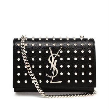 Studded Mini Monogram Bag - SAINT LAURENT