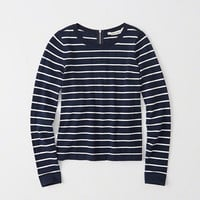 Zip Striped Sweater | Abercrombie.com