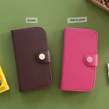 Livework Galaxy S3 / i9300 button smartphone case