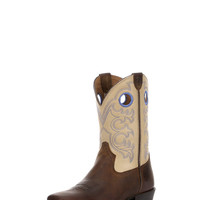 Kid's Crossfire Boot - Distressed Brown/Cream