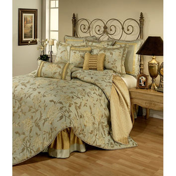 Pacific Coast Home Furnishings Inc. SAV320502-CK Austin Horn Classics Savoy Four-Piece California King Bedding Collection - (In No Image Available)