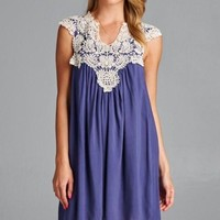 Ring The Alarm Lace Swing Dress