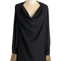 ModCloth Long Long Sleeve Chic, Of Course Top