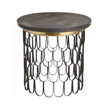 Orleans Iron Side Table