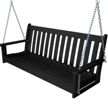 Patio Swing - Black