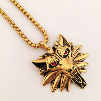 New Arrival Stylish Jewelry Gift Shiny Hip-hop Club Necklace [9095363143]