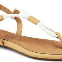 Sperry Top-Sider Lacie Sandal Sand/IvoryWoven, Size 9M  Women's Shoes
