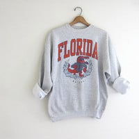 Vintage Florida Gators basketball sweatshirt // University of Florida sports sweatshirt