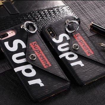Supreme Apple Iphone 6/6p6s/6sp7/7p8/8piphone X Phone Case Innovative With Buckle [429892698148]