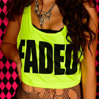 FADED Crop Top