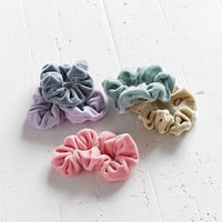 Velvet Hair Scrunchie Set | Urban Outfitters
