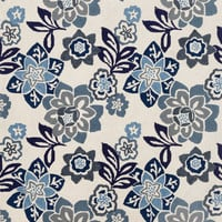 "Floral China Blue 8'3"" x 11'6"" Indoor/Outdoor Rug"