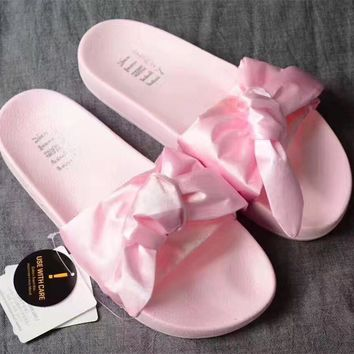 puma x rihanna fenty slide slipper shoes  number 5