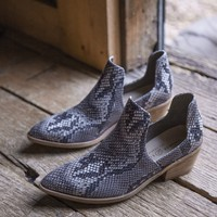 Focus Cutout Bootie, Snakeskin | Chinese Laundry