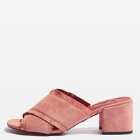 NANCY Fringe Mules - Shoes