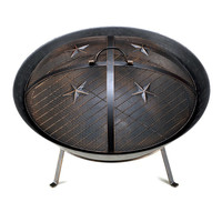 Outdoor Cast Iron Fire Pit