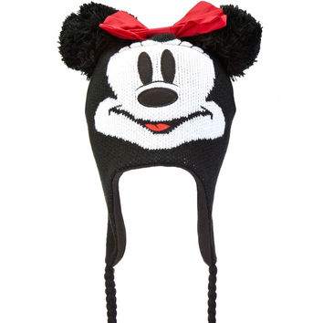 Minnie Mouse - Big Face Peruvian Knit Hat