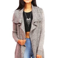 Wave Rush Knit Cardigan