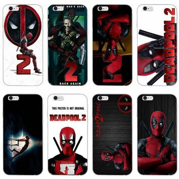 Marvel Deadpool 2018 slim silicone Soft phone case For Xiaomi Mi 6 A1 5 5s 5x mix max 2 Redmi Note 3 4 5 5A pro plus