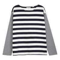 Wide Stripe Sailor Tee Chinti and Parker