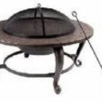 Shinerich Industrial Ltd Fs 35' Rnd Fire Pit Srfp46 Outdoor Fireplace