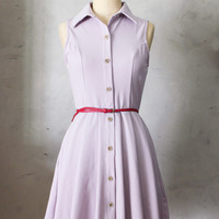 Mona Dress, Button-Up