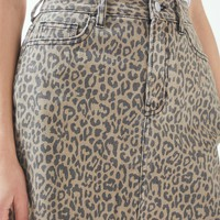 Cheetah 5-Pocket Skirt | PacSun