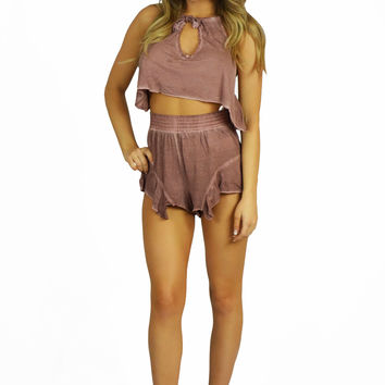 Mink Pink Radiance Tencel Jersey - Two Piece