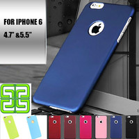 """2016 Cover for iPhone 6 Case 4.7 """" for iPhone 6 Plus Case 5.5 """" Frosted Hard Plastic Covers for iPhone 6 6S Plus Phone Cases"""