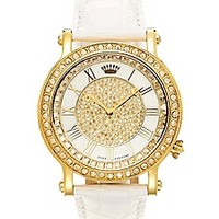 Queen Couture Watch - White