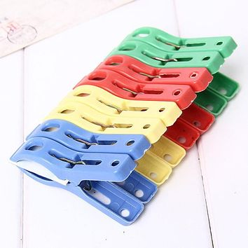 Home Set of 8pcs Beach Towel Clips Keep Your Towel from Blowing Away Free Shipping