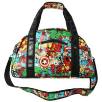 Marvel Comics Character Collage Gym Bag