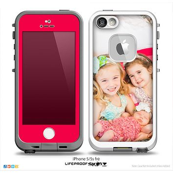 The Add Your Own Photo Skin for the iPhone 5-5s fr_ LifeProof Case