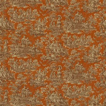Kasmir Fabric Arcadia Toile Autumn