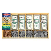 Toddler Melissa & Doug Play Money Set