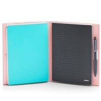 Blush Double Booked Cover | Notebook Systems | Poppin