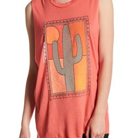 Project Social T | Framed Cactus Front Graphic Print Tank | Nordstrom Rack