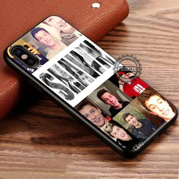 Shawn Mendes Collage iPhone X 8 7 Plus 6s Cases Samsung Galaxy S8 Plus S7 edge NOTE 8 Covers #iphoneX #SamsungS8